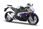 Maisto 31101-10 Модель мотоцикла (1:12) BMW S1000RR white/blue